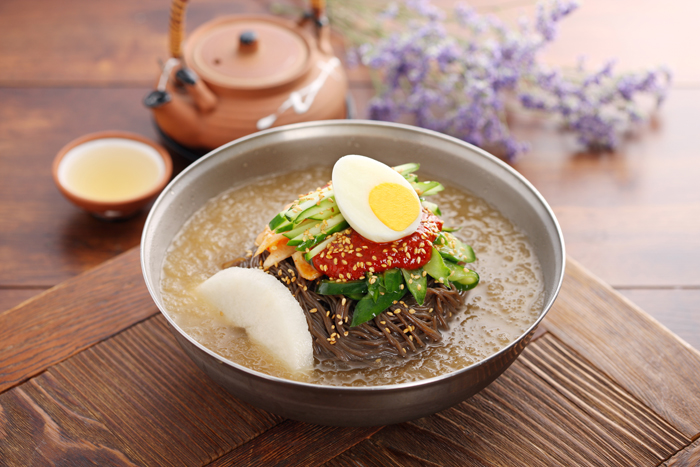 mỳ lạnh - naengmyeon
